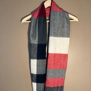 Charter Club 100% cashmere plaid scarf